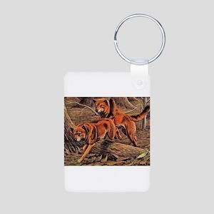 Dingo Art Aluminum Photo Keychain