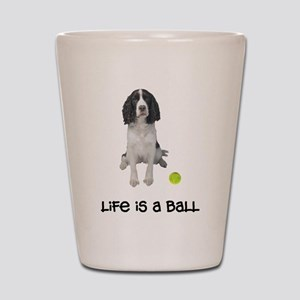 Springer Spaniel Life Shot Glass