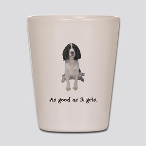 Good Springer Spaniel Shot Glass