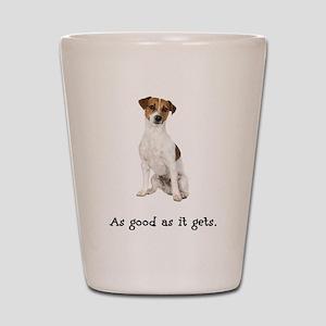 Good Jack Russell Terrier Shot Glass