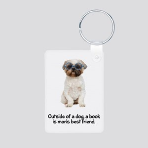 Book Lovers Quotes Keychains Cafepress