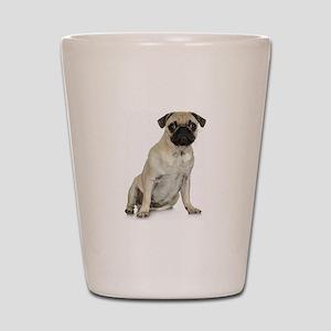 Fawn Pug Shot Glass