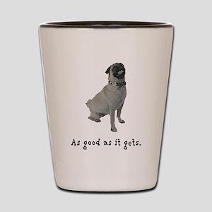 Good Pug Shot Glass