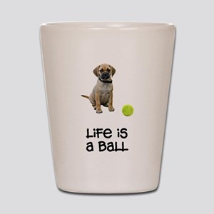 Puggle Life Shot Glass