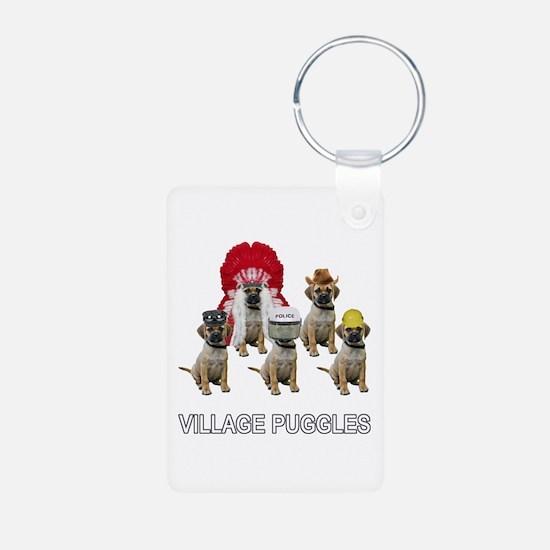 Village Puggles Keychains