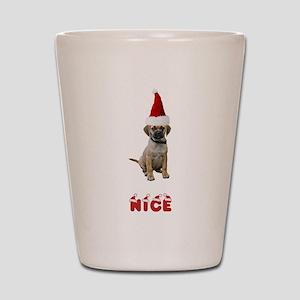 Nice Puggle Shot Glass