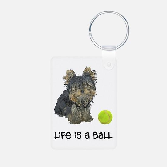 Yorkie Life Keychains