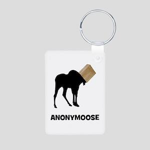 Anonymoose Aluminum Photo Keychain