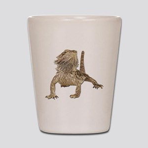Bearded Dragon Photo Shot Glass