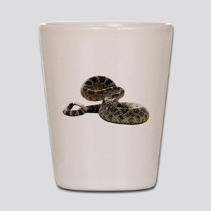 Rattlesnake Photo Shot Glass