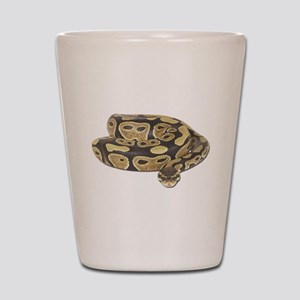 Ball Python Photo Shot Glass