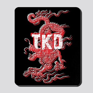 Taekwondo Dragon Mousepad