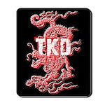 Taekwondo Dragon Mousepad
