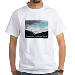 Cloudy Yosemite t-shirt--white