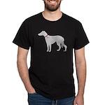 Greyhound Breast Cancer Supp Dark T-Shirt