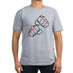 Conflict Resolution Men's Fitted T-Shirt (dark)
