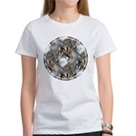 Wolf Head Background Women's T-Shirt