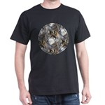 Wolf Head Background Dark T-Shirt