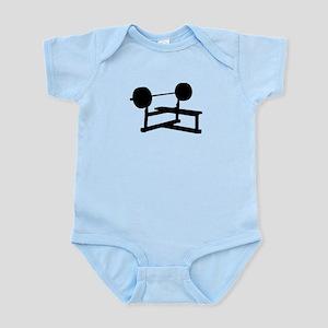 Weightlifting Infant Bodysuit