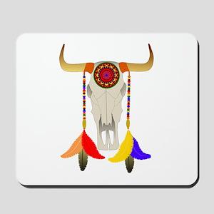 Bull Skull Mousepad