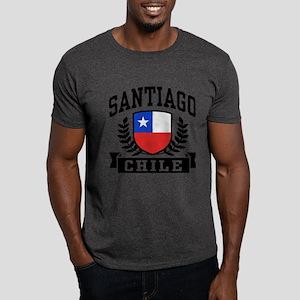 Santiago Chile Dark T-Shirt