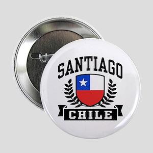 """Santiago Chile 2.25"""" Button"""