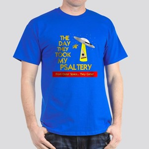 funny psaltery Dark T-Shirt