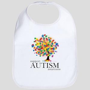 Autism Tree Bib
