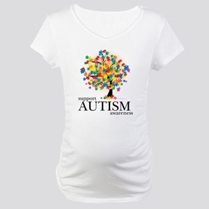 Autism Tree Maternity T-Shirt