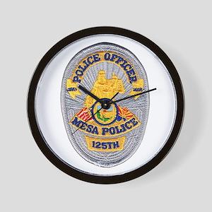 Mesa Police 125th Wall Clock