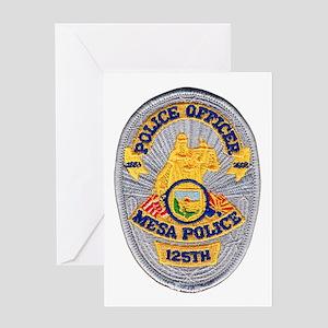 Mesa Police 125th Greeting Card