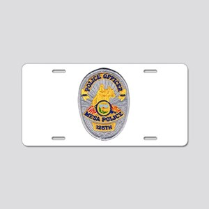 Mesa Police 125th Aluminum License Plate