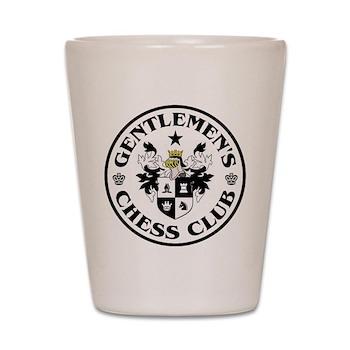 Gentlemen's Chess Club Shot Glass