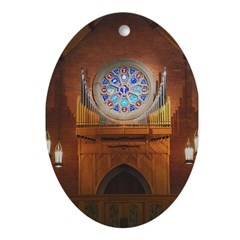 Holy Comforter Ornament (Oval)