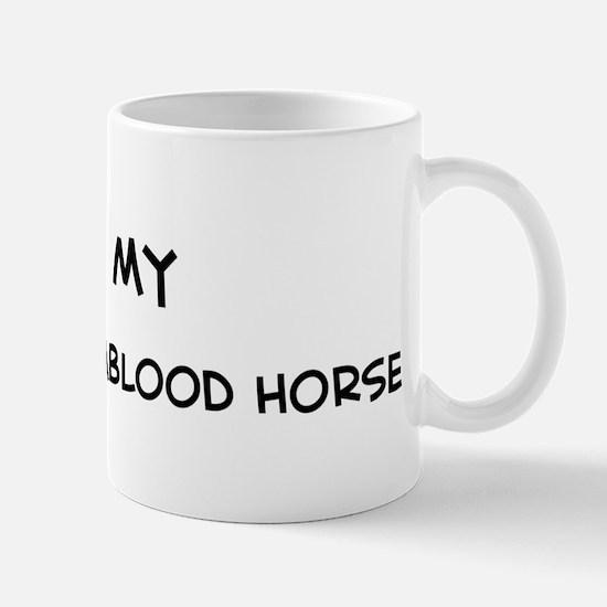I Love Swedish Warmblood Hors Mug