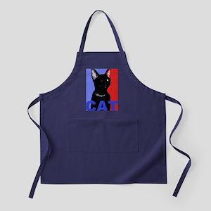CAT FOR PRESIDENT Apron (dark)
