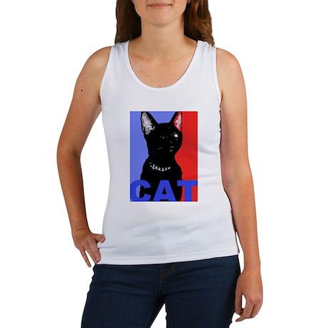 CAT FOR PRESIDENT Women's Tank Top