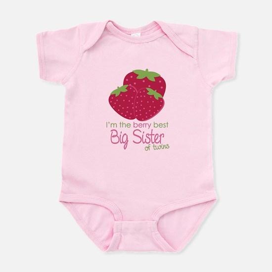 Berry Sister Twins Infant Bodysuit