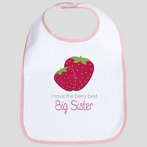 Berry Best Sister Bib