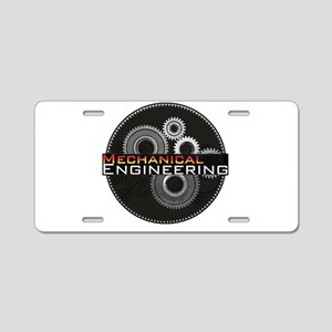 Mechanical Engineering Aluminum License Plate
