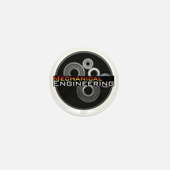 Mechanical Engineering Mini Button