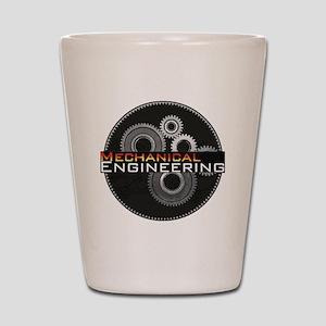 Mechanical Engineering Shot Glass