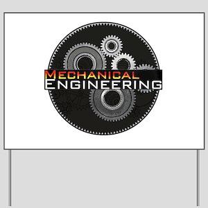 Mechanical Engineering Yard Sign