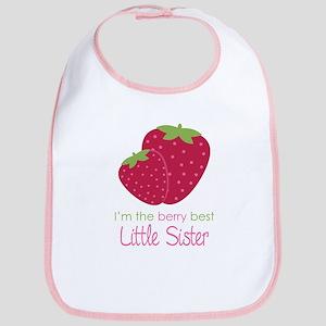 Berry Little Sister Bib