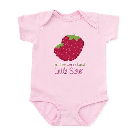 Berry Little Sister Infant Bodysuit
