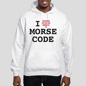 I Love Morse Code Sweatshirt