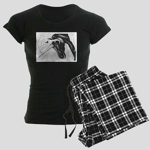 Dark Dancer Women's Dark Pajamas