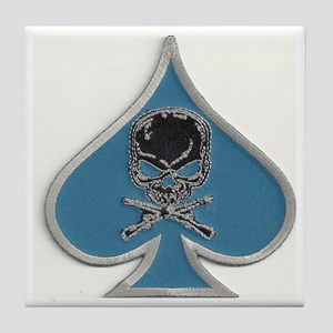 """""""Commando X"""" Tile Coaster"""