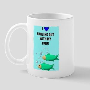 LOVE HANGING WITH MY TWIN Mug