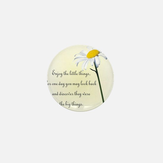 Funny Daisy Mini Button